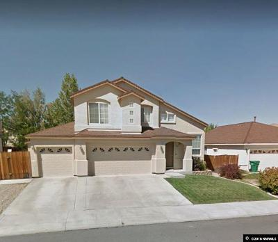 Carson City Single Family Home Active/Pending-Loan: 2646 Pebbleridge Way