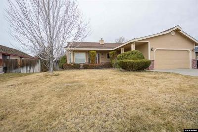 Gardnerville Single Family Home New: 1478 Kathy