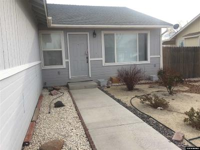Fernley Single Family Home Active/Pending-Loan: 608 Tamsen