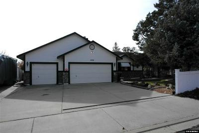Sparks Single Family Home New: 5630 Wedgewood Cir