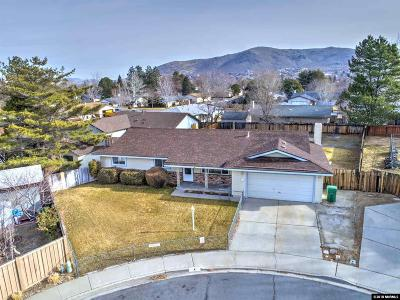 Carson City Single Family Home Active/Pending-Loan: 4 Wilson Ct