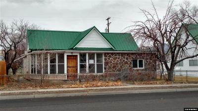 Battle Mountain Single Family Home Active/Pending-Loan: 124 W 2nd Street