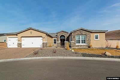 Reno NV Single Family Home For Sale: $849,000