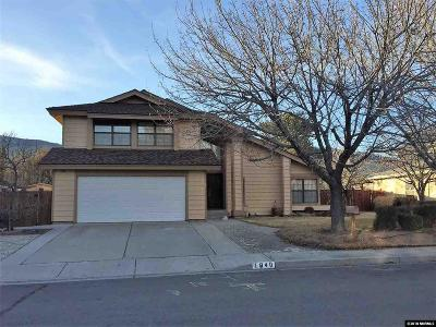 Carson City Single Family Home New: 1840 Chaise Dr