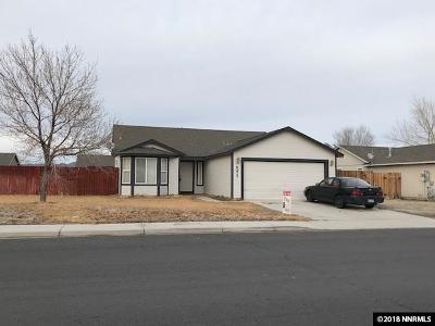 Fernley NV Single Family Home Active/Pending-Loan: $230,000