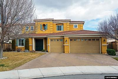 Reno Single Family Home Active/Pending-Loan: 475 Teramo