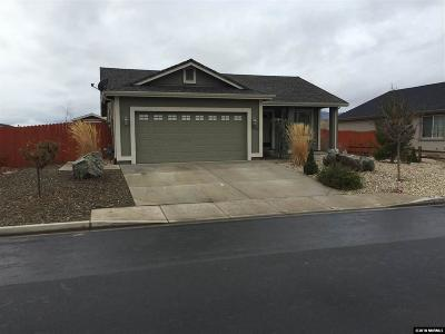 Reno Single Family Home Active/Pending-Loan: 18261 Grizzly Bear Court