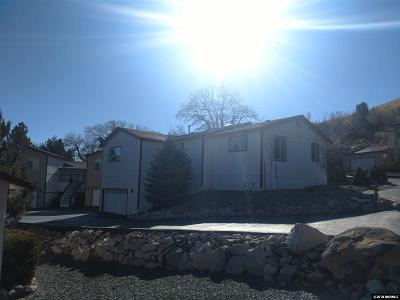 Carson City Single Family Home New: 1171 Thompson