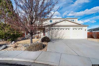 Reno, Sparks, Carson City, Gardnerville Single Family Home New: 17925 Clear Lake Ct.