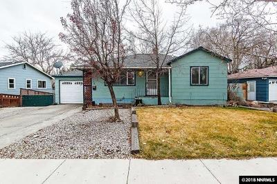 Reno, Sparks, Carson City, Gardnerville Single Family Home New: 430 Glenmanor Dr.