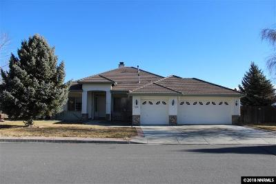 Carson City Single Family Home New: 580 Oxford Court
