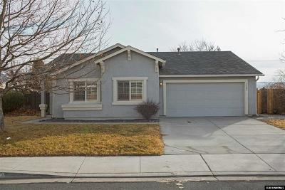 Sparks Single Family Home Active/Pending-Call: 7321 Sansol Drive