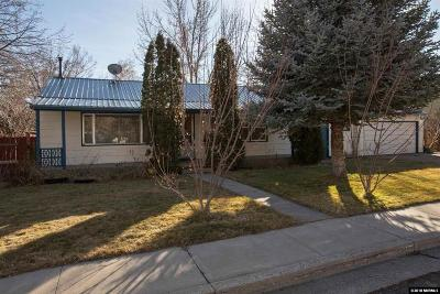 Reno Single Family Home New: 1920 Von Way
