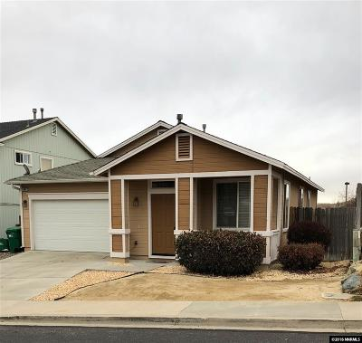 Reno Single Family Home New: 6382 Everest