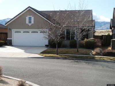 Reno Single Family Home New: 1655 Autumn Valley Court