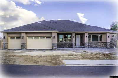 Gardnerville Single Family Home Active/Pending-Loan: 1126 Rocky Terrace Dr