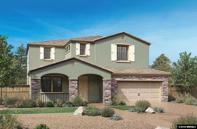 Reno Single Family Home New: 3325 Show Jumper Lane #LOT #79