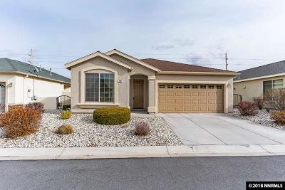 Carson City Single Family Home Active/Pending-Call: 1609 Teal Dr