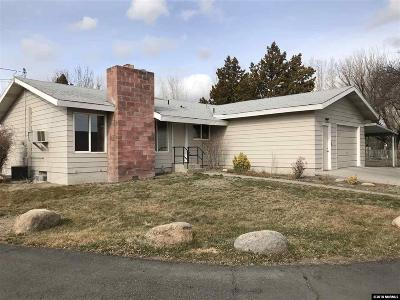 Reno Single Family Home Active/Pending-Call: 1810 McCloud Ave