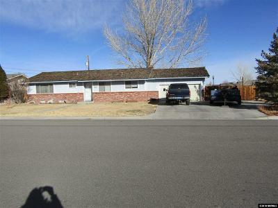 Yerington Single Family Home For Sale: 430 Pearl St.