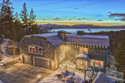 Stateline NV Single Family Home For Sale: $3,895,000