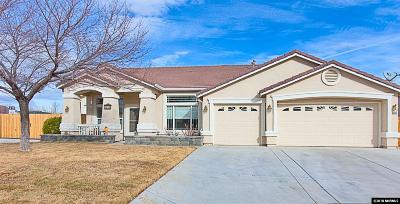 Fernley Single Family Home For Sale: 1050 Brierwood Lane