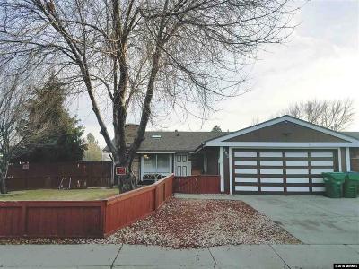 Sparks Single Family Home Active/Pending-Loan: 893 Glen Meadows