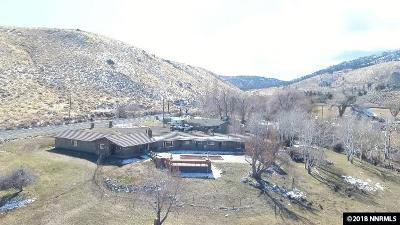 Carson City County Single Family Home For Sale: 3240 Kings Canyon Rd.