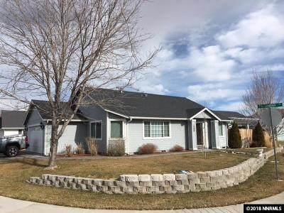 Gardnerville Single Family Home Active/Pending-Loan: 1280 Campbell Ct