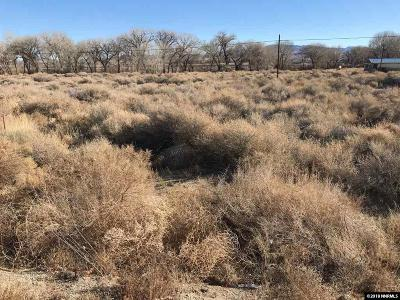 Yerington Residential Lots & Land Active/Pending-Call: Hwy 339 Parcel 2c