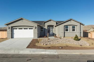 Sparks Single Family Home Active/Pending-Loan: 2281 Big Bird Dr. Lot 5