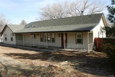 Carson City Single Family Home For Sale: 7373 Center Dr.