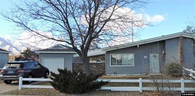 Reno Single Family Home Active/Pending-Loan: 12061 Green Mountain
