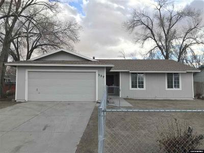 Fernley Single Family Home Active/Pending-Call: 337 Shadow Lane