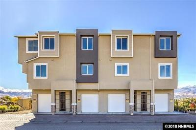 Sparks Condo/Townhouse Price Reduced: 2997 Silver River Lane #123