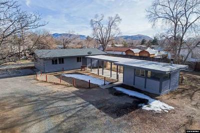Carson City Single Family Home Active/Pending-Loan: 2525 Larry Circle