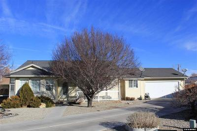 Yerington Single Family Home For Sale: 8 Emilio