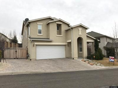 Reno Single Family Home For Sale: 1220 Silver Crest Circle