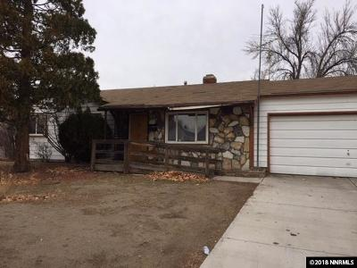 Sparks Single Family Home Active/Pending-Call: 480 Richards