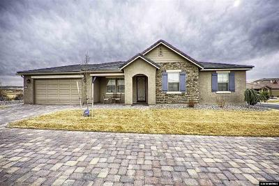 Sparks Single Family Home Active/Pending-Loan: 4742 Sage Thrasher
