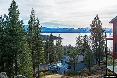 Zephyr Cove NV Single Family Home For Sale: $1,350,000