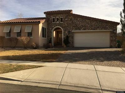 Reno Single Family Home For Sale: 7740 Harvest Hill