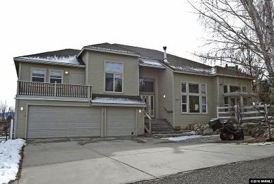 Gardnerville Single Family Home Active/Pending-Loan: 457 Tycoon