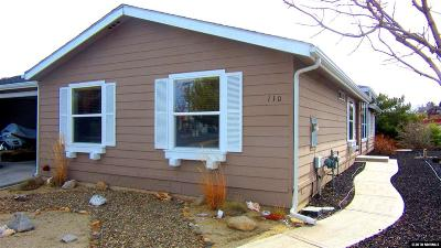 Reno Manufactured Home Active/Pending-Loan: 110 Platinum Pointe