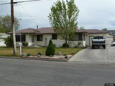 Yerington NV Single Family Home Active/Pending-Loan: $150,000