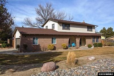 Washoe County Single Family Home Active/Pending-Loan: 13050 Stoney Brook