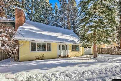 South Lake Tahoe CA Single Family Home For Sale: $440,000