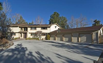 Washoe County Single Family Home Active/Pending-Loan: 16020 Edmands Drive