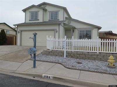 Sun Valley Single Family Home Active/Pending-Loan: 888 Midnight