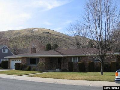 Carson City Single Family Home Active/Pending-Loan: 206 Carville Cir